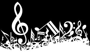 music (image taken from http://garcya.us/wp-content/uploads/2008/11/music-clipartMusic-background.jpg)