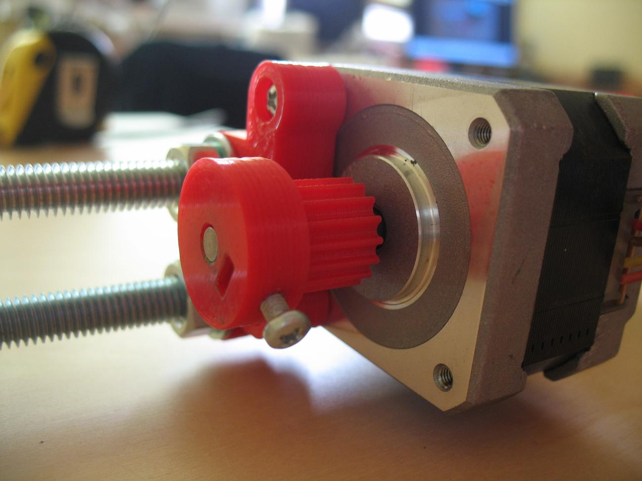 OY axis stepper motor