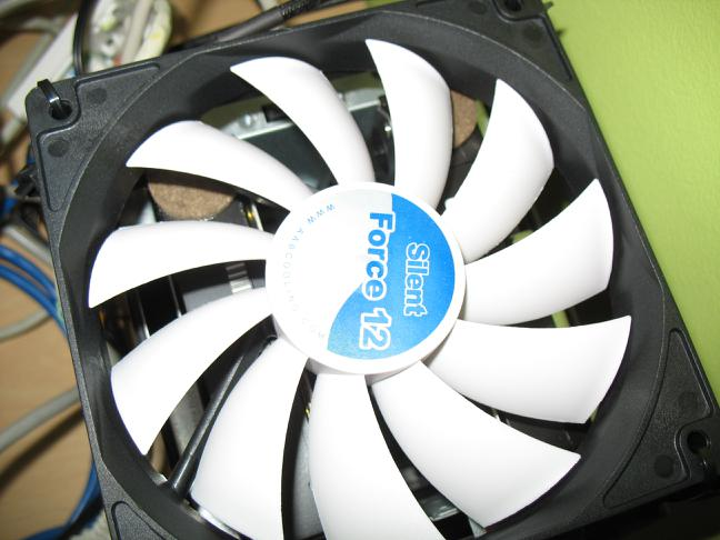 fan mounted