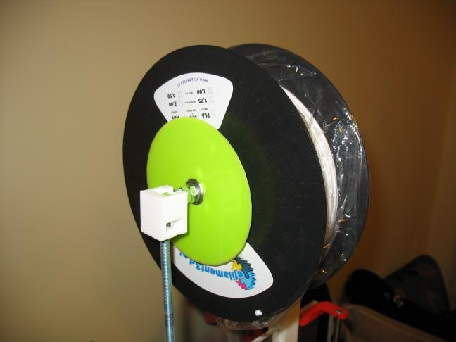 green filament mounted