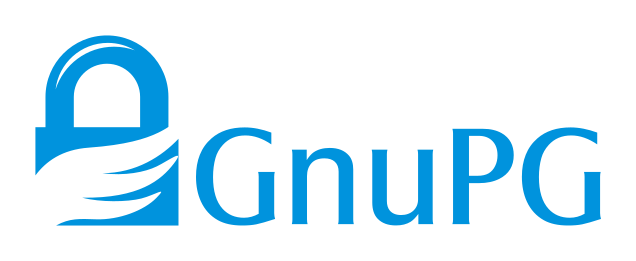 GPG logo (https://upload.wikimedia.org/wikipedia/commons/6/61/Gnupg_logo.svg)